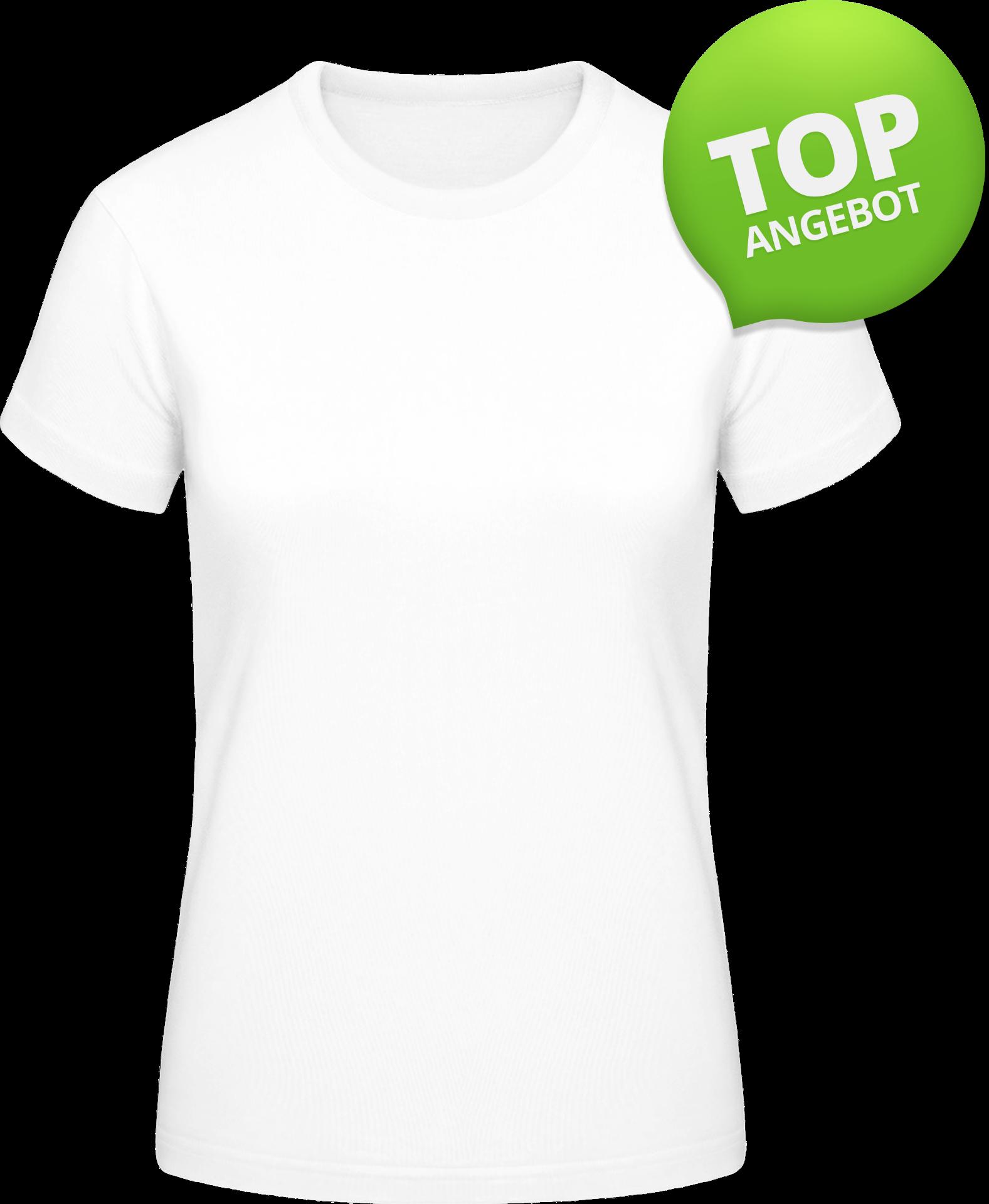 Weiß  Frauen T-shirt