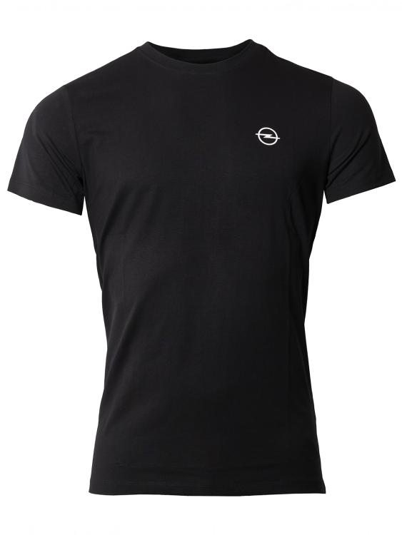 Basic T-Shirt Hommes noir