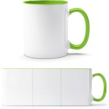 Zweifarbige Tasse