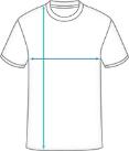 Premium T-Shirt Tech Dimensions