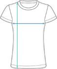 Basic Laufshirt Damen Dimensions