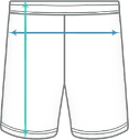 Premium Team Shorts Herren Size table