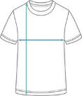 Premium T-Shirt Run Kids Dimensions