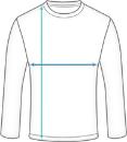 Basic Langarm Laufshirt Herren Dimensions
