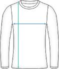 Basic Langarm Laufshirt Damen Dimensions