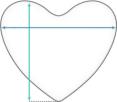 Hartvormig Kussen Afmetingen<